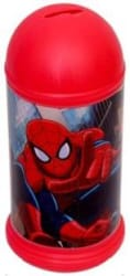Marvel Spider-Man Kids Coin Bank Multicolor