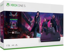 Microsoft Xbox One S 1 TB with Devil May Cry 5 Deluxe Edition Gradient Purple