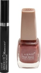 Lakme Mascara & Nail Color Combo 2 Items in the set
