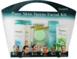 Himalaya Pure Skin Neem Facial Kit with Face Massager 7 Items in the set