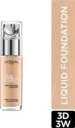 L OREAL PARIS True Match Super Blendable Liquid Foundation Golden Beige 3D3W, 30 ml