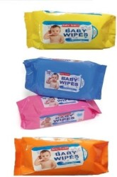 Baby Tender COTTON WIPES 4 Pieces