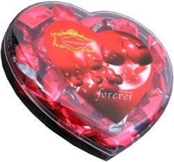 Skylofts Valentine s Heart Box with 13 Chocolate Bars 110 g