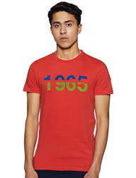 United Colors of Benetton Men s Printed Regular fit T-Shirt