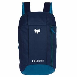 Fur Jaden Hiking Camping Rucksack Casual 10 Ltrs Blue Casual Backpack