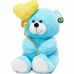 I Love You Balloon Heart Teddy (Color May Vary) 18 cm