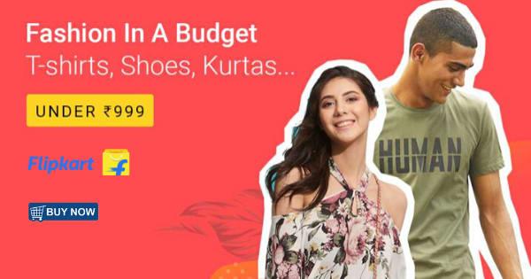 Under ₹999 on Women & Men Fashion