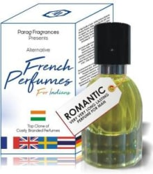 PARAG FRAGRANCES Romantic 35ml French Perfumes For Indians ( A Alternative Perfume of Costly Branded Perfumes ) Best Branded Perfume For Man & Woman / Long Lasting Perfumes Eau de Parfum - 35 ml For Men & Women