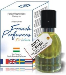 PARAG FRAGRANCES Juice Crush 35ml French Perfumes For Indians ( A Alternative Perfume of Costly Branded Perfumes ) Best Branded Perfume For Man & Woman / Long Lasting Perfumes Eau de Parfum - 35 ml For Men & Women