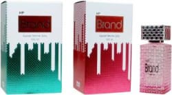 HP Brand Pink and GreenPerfume 100ML Each (Pack of 2) Perfume - 200 ml For Men & Women