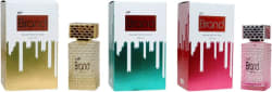 HP Brand Gold, Green and Pink Perfume 100ML Each (Pack of 3) Perfume - 300 ml(For Men & Women)