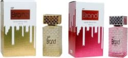 HP Brand Gold and Pink Perfume 100ML Each (Pack of 2) Perfume - 200 ml For Men & Women