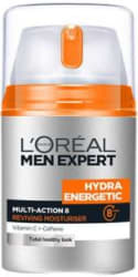 L Oreal Men Experts Hydra Energetic Multi Action 8 with Vitamin C & Caffeine(50 ml)