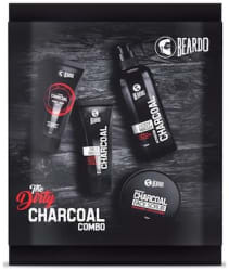 Beardo The Dirty Charcoal Combo (Peel Off Mask Face Wash Face Scrub Body Wash) Pack Of 4