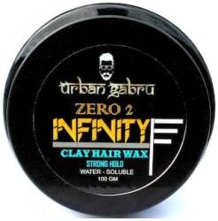 Urbangabru Zero To Infinity Hair Wax For Strong Hold And Volume