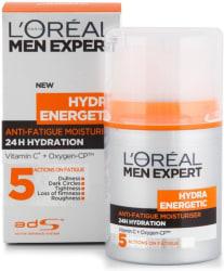 L Oreal Men Expert Hydra Energetic Anti-Fatigue Moisturiser 50 ml