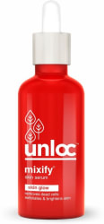 mixify Unloc Skin Glow Serum with AHAs, Vitamin C and natural plant extracts of Mulberry & Licorice 30 ml