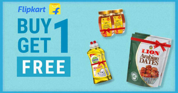 Buy 1 Get 1 Free on Grocery