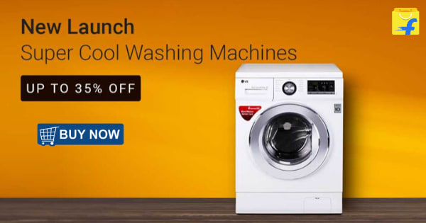 Up to 35% off on Super Cool Washing Machine