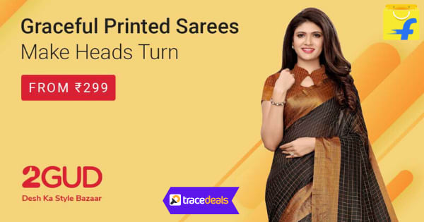From RS.299 Graceful Printed Sarees