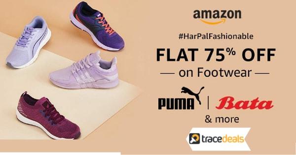 Flat 75% off on Footwear   HarPalFashionable