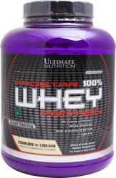 Ultimate Nutrition Prostar 100% Whey Protein 2.39 kg, Cookies N Cream