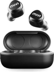 Mivi DuoPods M20 True Wireless Bluetooth Headset Black, True Wireless