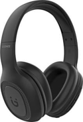 Gionee EBTHP2 Wireless Ultra-Light High Bass Stereo & 20 Hrs Playback Time Bluetooth Headset Black, Wireless over the head