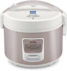 Kent 16014 Electric Rice Cooker(5 L, Ivory, Brown)