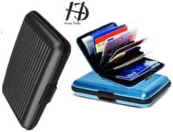 HD Aluma Wallet Designer Card Holder - Assorted Color (Set Of 2)