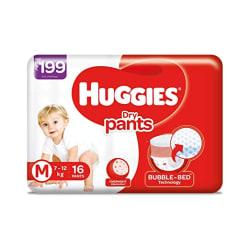 Huggies Dry Pants, Medium Size Diapers, 16 Count