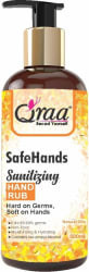 Qraa Safe Hands for All Kind of Flu, Virus- Anti-Bacterial with Neem & Aloe Vera Extracts 500ml Hand Sanitizer Pump Dispenser(500 ml)