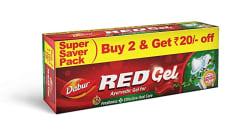 Dabur Red Gel, 150g (Pack of 2)