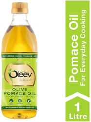 Oleev Pomace Olive Oil - For All Types Of Cooking 1L