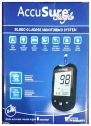 Accu Sure Simple Blood Glucose Monitoring System
