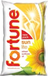 Fortune Sunlite Refined Sunflower Oil Pouch 1 L