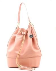 Diana Korr Becky Bucket Pink Shoulder Bag