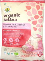 Organic Tattva Whole Wheat Flour (Chakki Atta) 5 kg