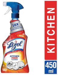 Lizol Power Kitchen Cleaner Trigger- 450 ml