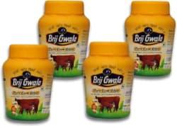 Brij Gwala Pure Desi Ghee 1Ltr Jar Pack Of-4