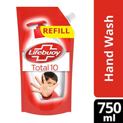 Lifebuoy Total 10 Activ Germ Protection Handwash Refill, 750 ml