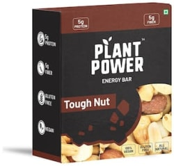 Plant Power Energy Bar Tough Nut with 5g Protein - 6 x 35g (Single Pack)