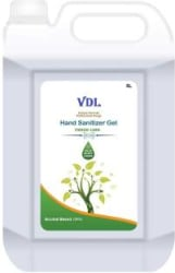 VDL Alcohol based 5 Liter Hygenic 70% Alcohol Kills 99.99% Germs Hand Sanitizer Can(5 L)