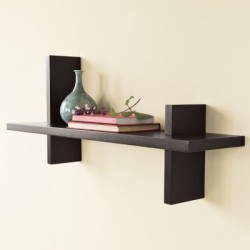 The New Look Display Unit MDF (Medium Density Fiber) Wall Shelf Number of Shelves - 1, Black