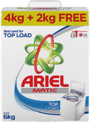 Ariel Top Load Matic Detergent Powder 4 kg