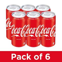 Coca-Cola 6 x 300 ml