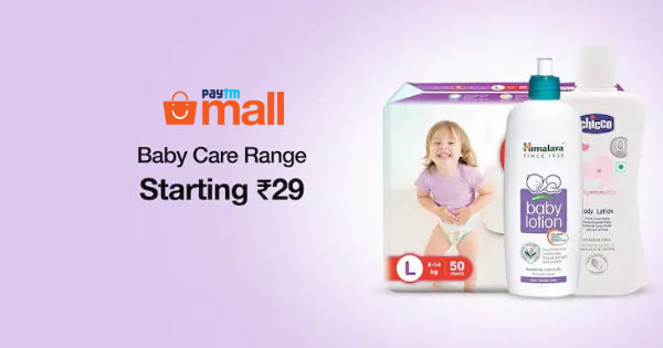 Starting Rs. 29 Baby Care & Maternity