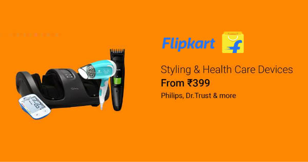From Rs. 399 Styling & Health Care Devices