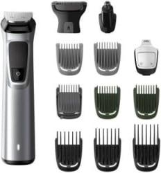 Philips MG7715/15 Multi-Grooming Kit For Men Runtime: 120 min Trimmer for Men Silver, Black