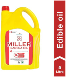 Miller Canola Oil - For All Types Of Cooking 5L